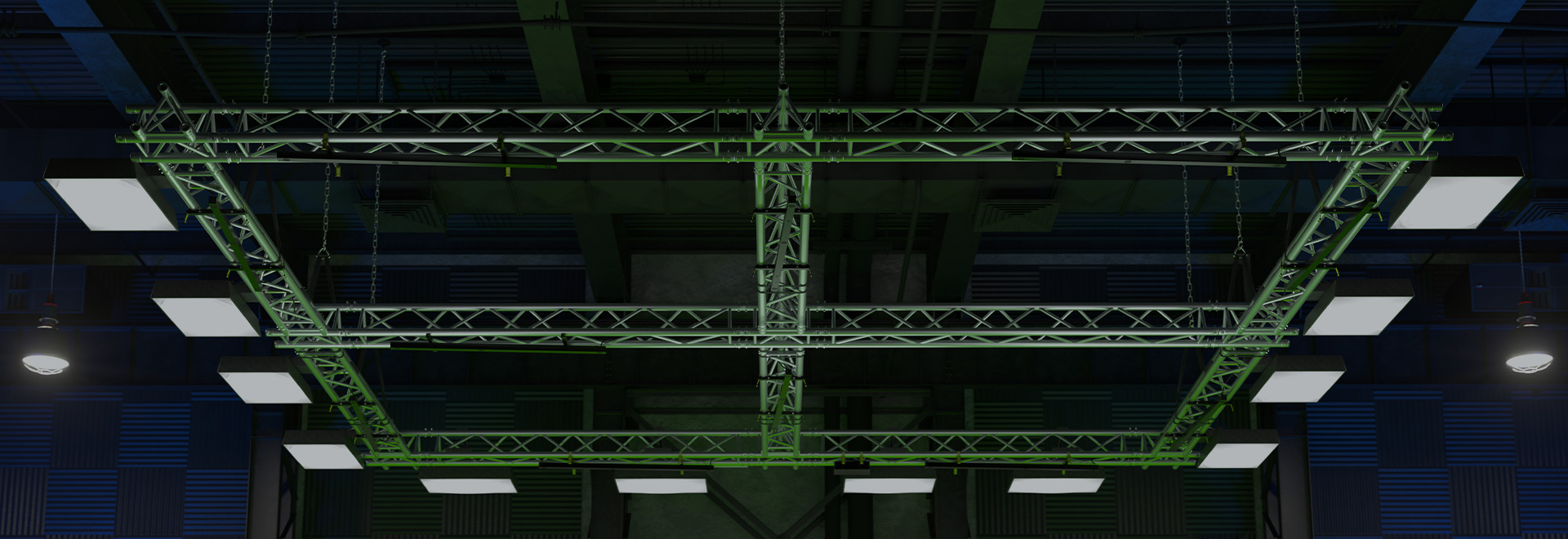 Truss tracking area